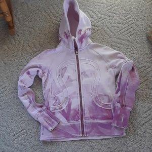 Lululemon zip up special edition hoodie( scuba)